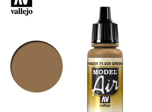 VALLEJO ACRYLIC (VLJ) Brown Green - Model Air