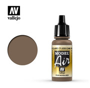 VALLEJO ACRYLIC (VLJ) Camouflage Pale Brown - Model Air