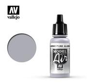VALLEJO ACRYLIC (VLJ) Aluminum (Metallic) - Model Air