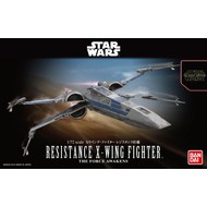 BANDAI MODEL KITS 1/72 Resistance X-Wing Star Fighter SW Frc Awkn