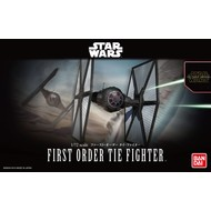 BANDAI MODEL KITS 1/72 First Order Tie Fighter SW Force Awkns