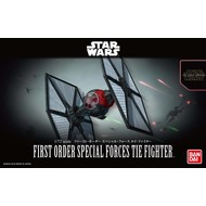 BANDAI MODEL KITS 1/72 First Order Special Forces Tie Fighter SW