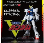 "Bandai V Gundam (Large) ""Victory Gundam"", Bandai Logo Display"