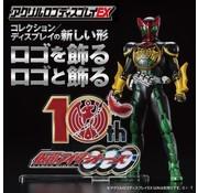 """Bandai OOO 10th Anniversary """"Kamen Rider"""", Bandai Logo Display"""