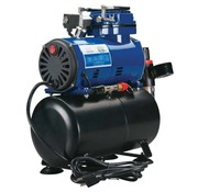 Paasche (PAS) D3000R Diaphragm Compressor W/ Tank and Regulator