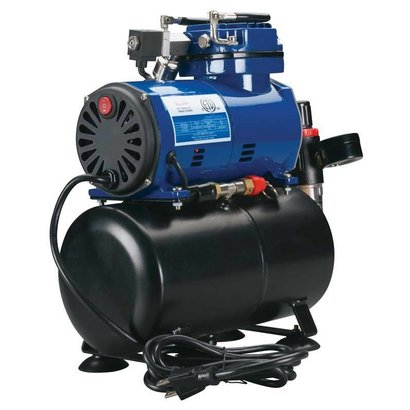 PAS - Paasche Paasche D3000R Diaphragm Compressor with Tank and Regulator