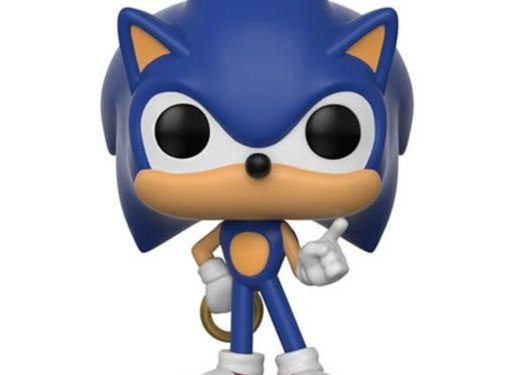 Funko Pop! Sonic the Hedgehog with Ring Pop!
