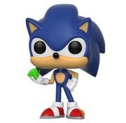 Funko Pop! Sonic the Hedgehog with Emerald Pop!
