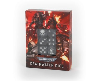 Games Workshop -GW DEATHWATCH DICE SET