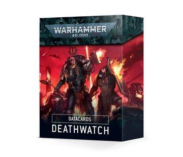 Games Workshop -GW DATACARDS: DEATHWATCH