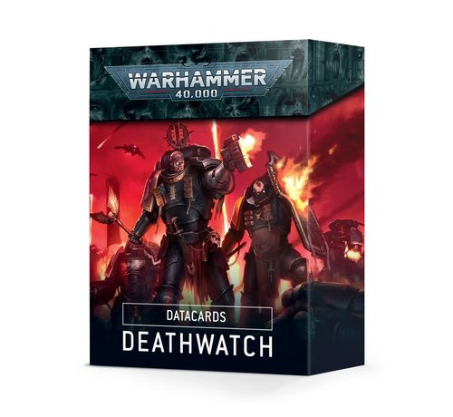 Games Workshop -GW 39-02 DATACARDS: DEATHWATCH (ENGLISH)