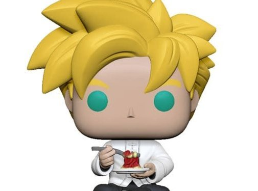 Funko Pop! Dragon Ball Z Super Saiyan Gohan with Noodles Pop!