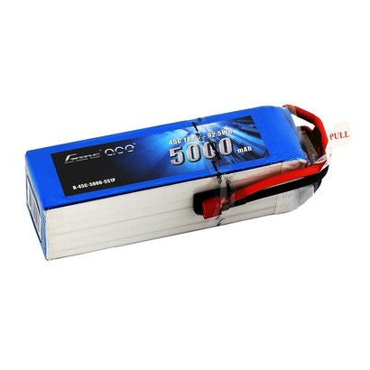 Gens ace Gens ace 5000mAh 18.5V 45C 5S1P Lipo Battery Pack with Deans plug