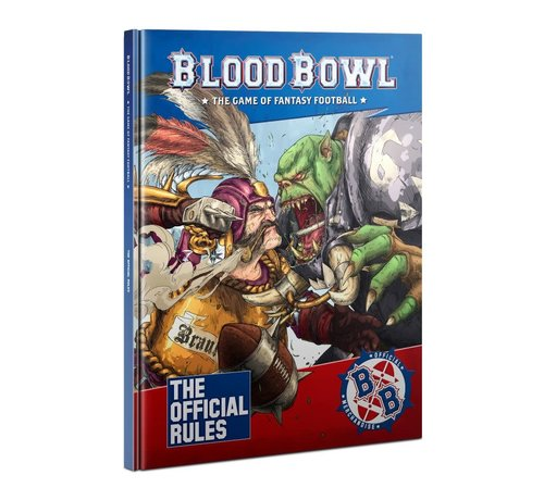 Games Workshop -GW 200-03 BLOOD BOWL RULEBOOK