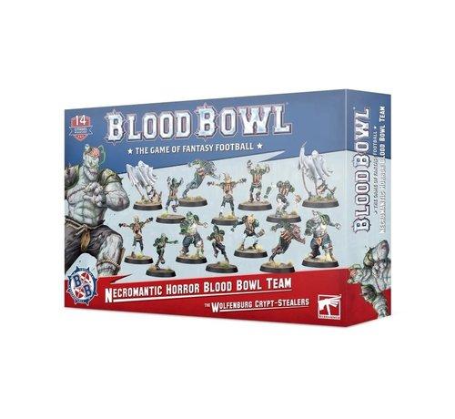 Games Workshop -GW 202-07 BLOOD BOWL: Necromantic Horror Blood Bowl Team: The Wolfenburg Crypt-Stealers