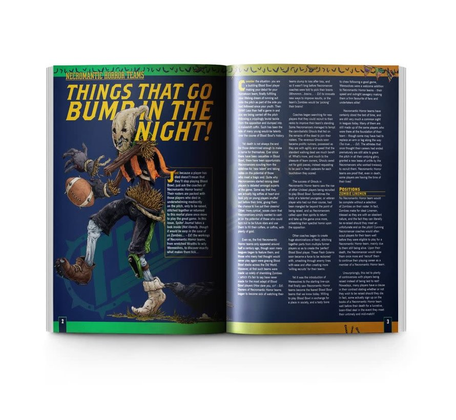 200-90 BLOOD BOWL: SPIKE! JOURNAL ISSUE 11