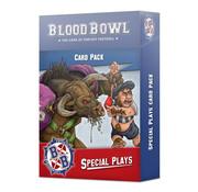 Games Workshop -GW BLOOD BOWL SPECIAL PLAYS CARDS