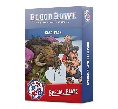 Games Workshop -GW 200-98  BLOOD BOWL SPECIAL PLAYS CARDS