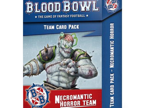 Games Workshop -GW BLOOD BOWL NECROMANTIC TEAM CARDS