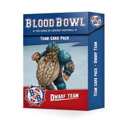 Games Workshop -GW BLOOD BOWL: DWARF TEAM CARD PACK