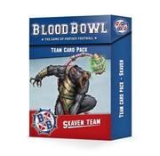 Games Workshop -GW BLOOD BOWL: SKAVEN TEAM CARD PACK
