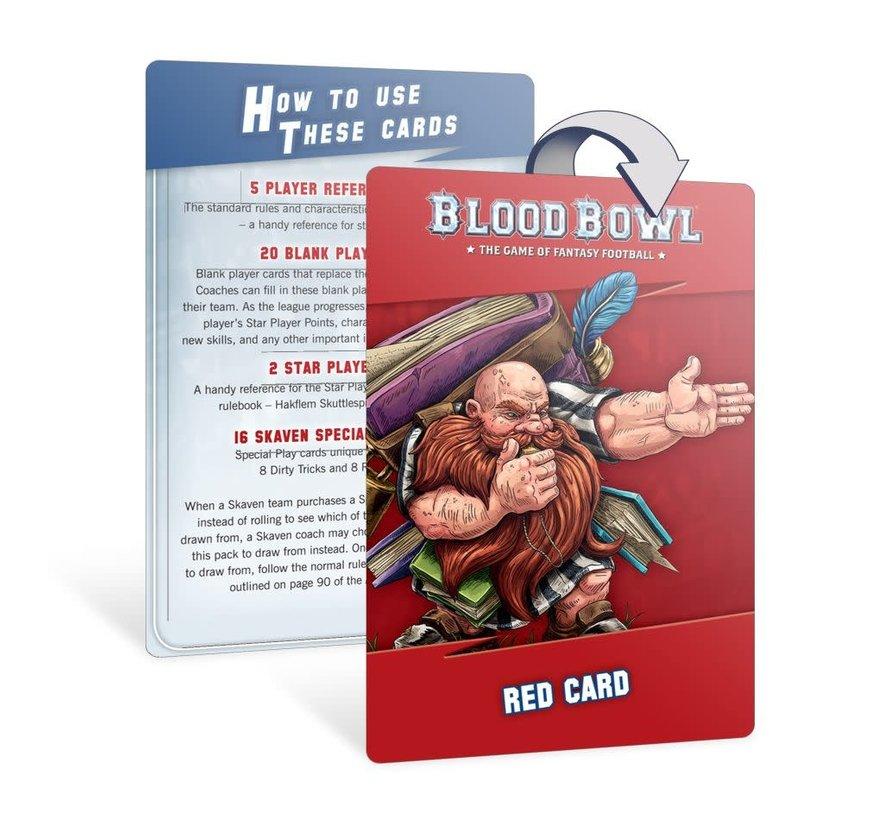 200-41 BLOOD BOWL: SKAVEN TEAM CARD PACK