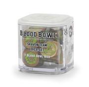 Games Workshop -GW BLOOD BOWL: SKAVEN TEAM DICE SET