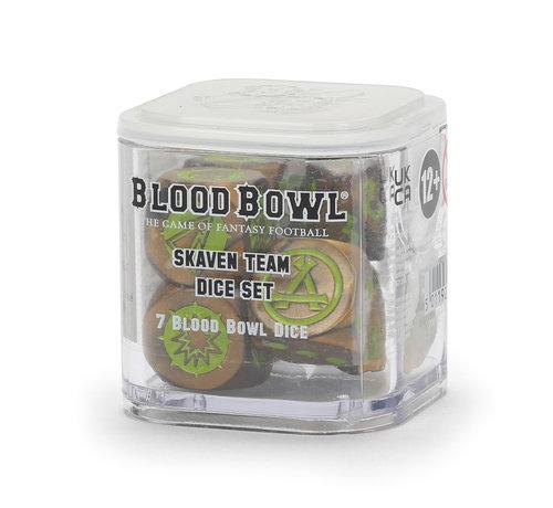 Games Workshop -GW 200-12 BLOOD BOWL: SKAVEN TEAM DICE SET