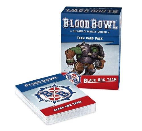 Games Workshop -GW 200-93 BLOOD BOWL: BLACK ORC TEAM CARD PACK