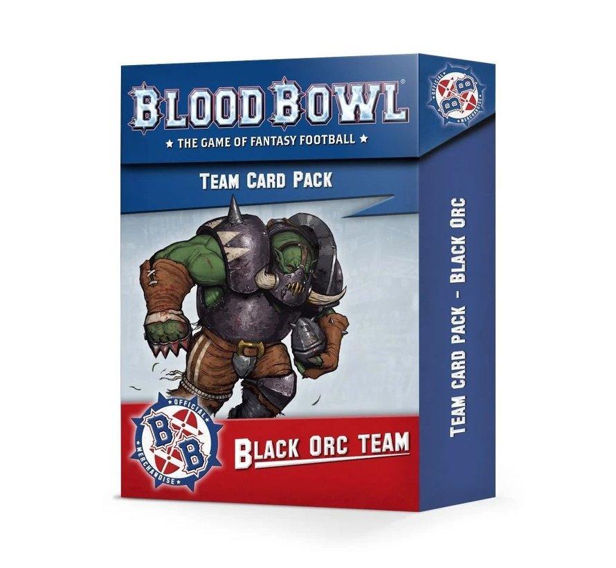 200-93 BLOOD BOWL: BLACK ORC TEAM CARD PACK