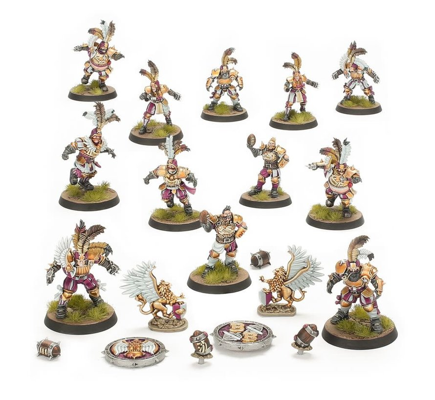 202-13 BLOOD BOWL: Imperial Nobility Blood Bowl Team: The Bögenhafen Barons
