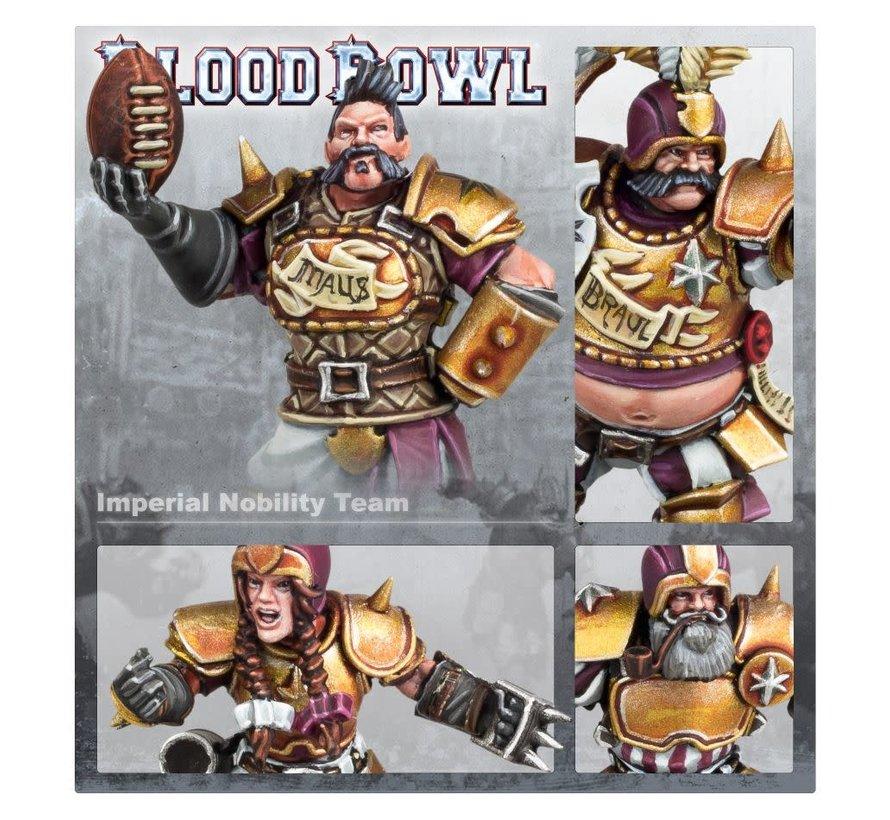 202-13 BLOOD BOWL: Imperial Nobility Blood Bowl Team: The Bögenhafen Barons