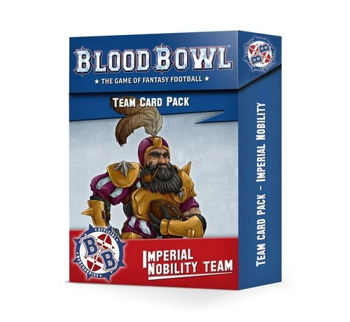 Games Workshop -GW 200-92 BLOOD BOWL: IMPERIAL NOBILITY CARD PACK
