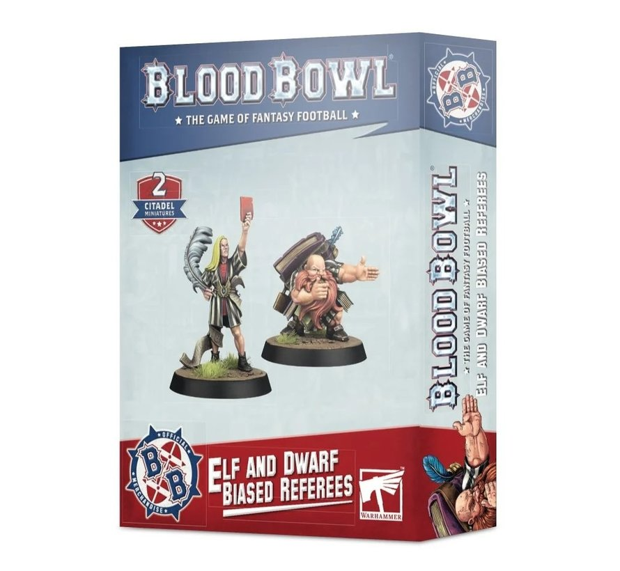 202-16 BLOOD BOWL ELF AND DWARF BIASED REFEREES