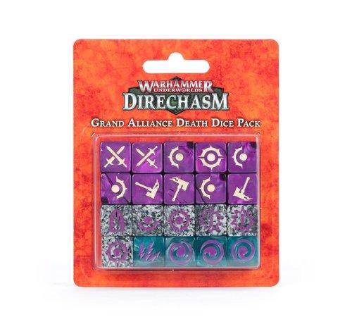 Games Workshop -GW 110-14 WARHAMMER UNDERWORLDS: GRAND ALLIANCE DEATH DICE