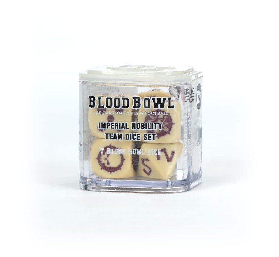 202-08 BLOOD BOWL IMPERIAL NOBILITY TEAM DICE