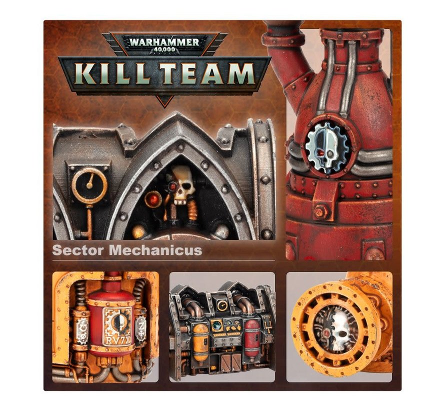 102-56 Kill Team Killzone: Sector Mechanicus Environment Expansion