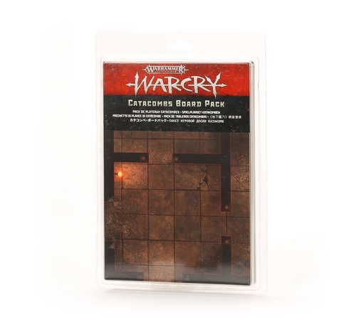Games Workshop -GW 111-70 WARCRY: CATACOMBS BOARD PACK