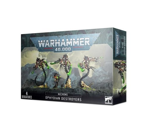 Games Workshop -GW 49-32 NECRONS: OPHYDIAN DESTROYERS