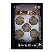 Games Workshop -GW NECROMUNDA 32MM BASES