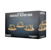 Games Workshop -GW CADIAN HEAVY WEAPON SQUAD