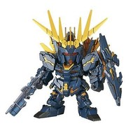 BANDAI MODEL KITS 015 Unicorn Gundam 02 Banshee Norn DM SD
