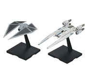 BANDAI MODEL KITS 1/144 U-Wing Fighter/Tie Striker Rogue One