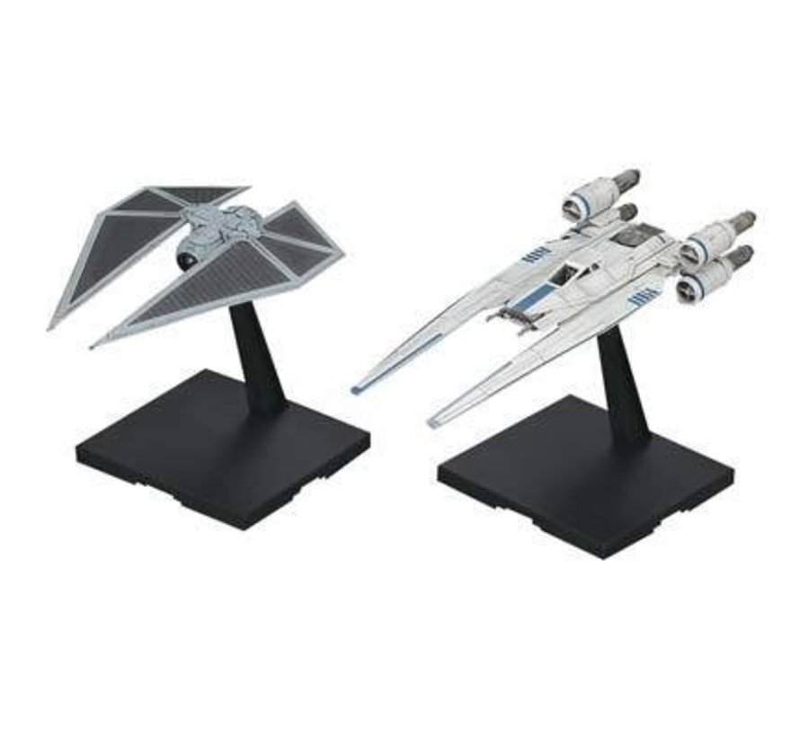 212184 1/144 U-Wing Fighter and Tie Striker Rogue One