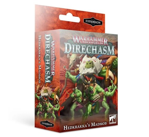 Games Workshop -GW 109-04 WARHAMMER UNDERWORLDS: HEDKRAKKA'S MADMOB