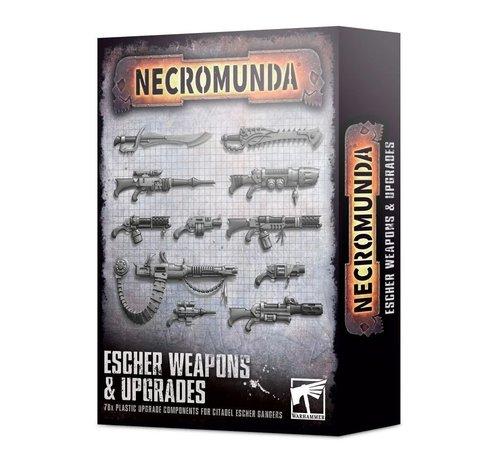 Games Workshop -GW 300-74 NECROMUNDA: ESCHER WEAPONS & UPGRADES