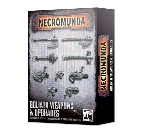 Games Workshop -GW 300-75 NECROMUNDA: GOLIATH WEAPONS & UPGRADES