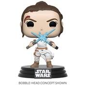 Funko Pop! Star Wars: The Rise of Skywalker Rey with 2 Light Sabers Pop!