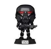 Funko Pop! Star Wars: The Mandalorian Dark Trooper (Battle) Pop!