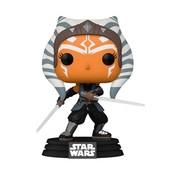 Funko Pop! Star Wars: The Mandalorian Ahsoka with Sabers Pop!